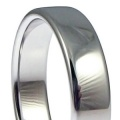 9ct Extra Heavy Cushion Court Profile Wedding Rings