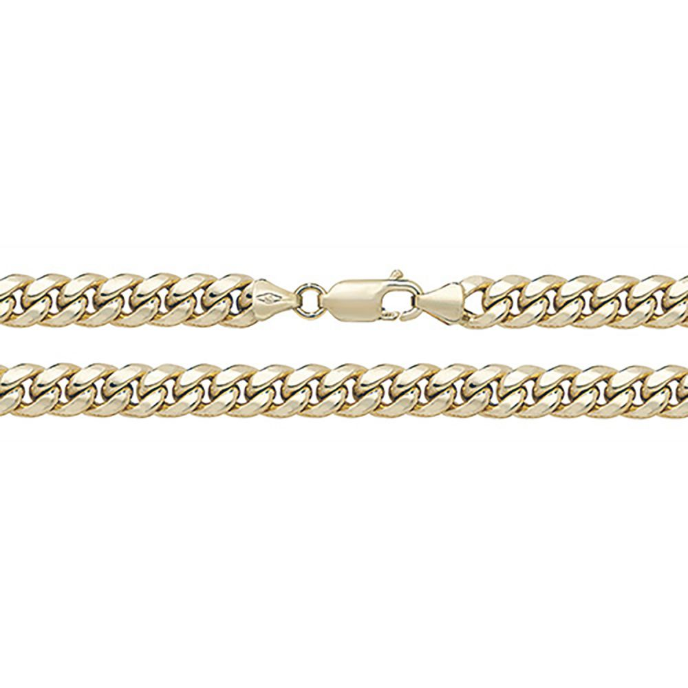 9ct Yellow Gold Men's Curb Chain Hallmarked
