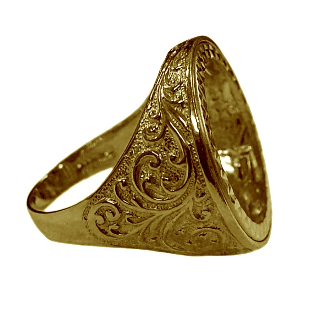 ring trade me full filigree mount photo other on listing htm sovereign jewellery enlarge gold rings to watches click yellow