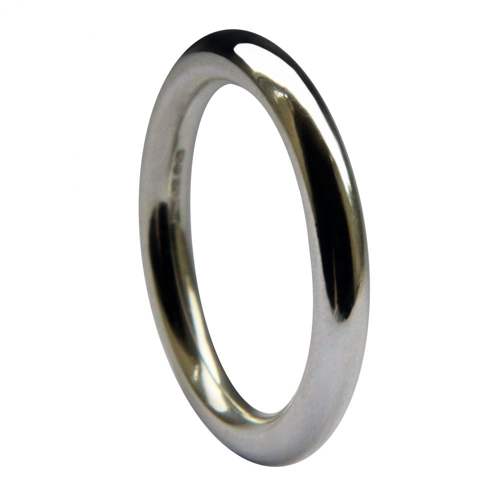 3mm 925 Sterling Silver Halo Wedding Rings Bands