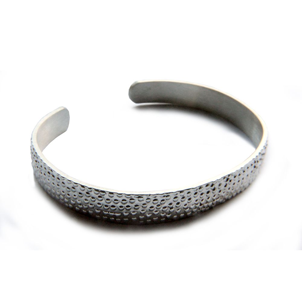 925 Sterling Silver 10mm Unisex Heavy Mexican Bracelet 32g